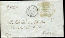 8630 Italia, Lettera Parrocchiale,1849, Da Modena A Verica Pavullo,  Il Vescovo Di Modena,bishop,bischof,eveque - Italie