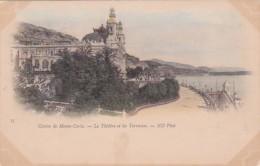 Monaco Monte Carlo La Casino Le Theatre Et Les Terrasses - Terraces