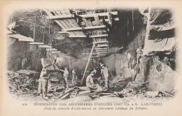 49 - TRELAZE - Commision Des Ardoisières D´Angers Méthode Actuelle D´exploitation En Remontant (abatage Du Schiste) - France