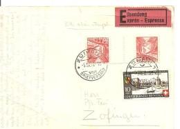 Schweiz, Postkarte 1942, Zürich-Zofingen, S 46, Siehe Scans! - Switzerland