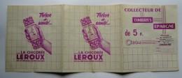 CHICOREE LEROUX,COLLECTEUR DE TIMBRES EPARGNE,CIBON,PATURAUD,LASOUTERRAINE,IMAGES DU MONDE - Advertising