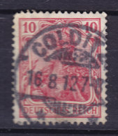 Germany Deutsches Reich 1905 Mi. 86 I Germania Deluxe COLDITZ !! - Blocks & Kleinbögen