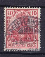 Germany Deutsches Reich 1905 Mi. 86 I Germania Deluxe PFAFFENHOFEN !! - Blocks & Kleinbögen