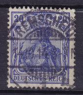 Germany Deutsches Reich 1905 Mi. 87 I Germania Deluxe REMSCHEID !! - Deutschland