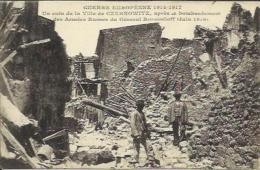 CPA De CZERNOWITZ - Un Coin De La Ville Après Le Bombadement Des Armées Russes Du Général Broussiloff (juin 1916). - Ukraine