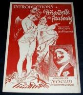 INTRODUCTIONS A L' HIRONDELLE DU FAUBOURG. Nocud - Musique