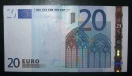 20 EURO R031E5 Finland Draghi Serie L44 About UNC - EURO