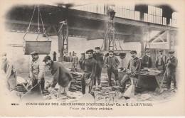 49 - TRELAZE - Commision Des Ardoisières D´Angers Triage Du Schiste Ardoisier - France