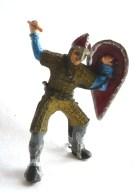 FIGURINE GUERRIER CAVALIER NORMAND Sans Cheval - ELASTOLIN  - OUGEN Ancien - Leger