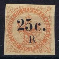 Reunion:  Yv Nr 4 Not Used (*) SG - Réunion (1852-1975)