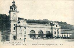 N°49722 -cpa Bayonn -la Nouvelle Gare De La Compagnie Du Midi- - Gares - Sans Trains