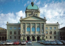 BERNE : Le Palais Fédéral (avec Voitures) - BE Berne