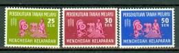 Malaya 1963 SG 32/34** Sc 111/13**Freedom For Hunger  MNH - Federation Of Malaya