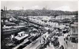CONSTANTINOPEL - Le Nouveau Pont, Fotokarte 1935? - Türkei