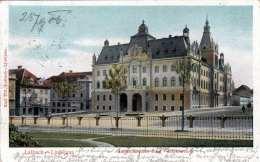 LAIBACH - Ljubliana, Landschaftliche Burg, Gel.1906 - Slowenien
