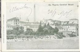 Vaprio   (Milano) 1906 Da Vaprio Cordiali Saluti - Autres Villes