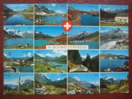 "Schweiz - Mehrbildkarte: ""16 Schweizerpässe"" - Non Classés"