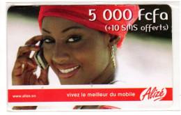 SENEGAL Prepayée ALIZE - Sénégal