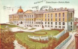 BOSTON - Side View Of State House - Boston