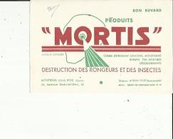Buvard G F_de Produits MORTIS   Destruction Des Rongeurs Et Des Insectes A Montreuil-sous-Bois  Voir Scan - Animals