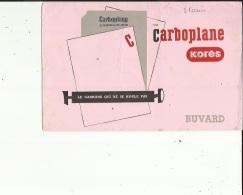 Buvard G F_de KORES  CARBOPLANE  Le Carbone Qui Ne Se Roule Pas - P