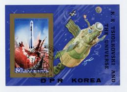 Korea - Nord,  1984, Space, - Space