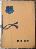 SPOMENICA BSK 1911-1931 BEOGRADSKI SPORT KLUB, BEOGRAD   RRARE - Livres
