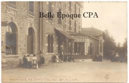 42 - Terrasse De L'Hôtel Du MONT-PILAT ++++ FC ++++ CARTE-PHOTO - Mont Pilat