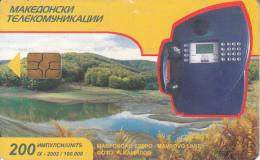 F.Y.R.O.M. - Cardphone(200 Units), Chip GEM3.1, 09/02, Used - Macedonia