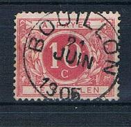 TX 5 Met Afstempeling Bouillon 21 Juin 1905 Voor 0.75 Euro - Taxes