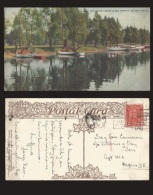 B)1931 CANADA, LAKE, SAILBOATS,  2 CENTS RED KING GEORGE V, THE LAGOON, CENTRE ISLAND. TORONTO, ONTARIO, CANADA, POSTACA - Toronto