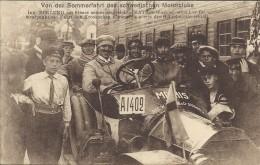 CPA D'une Automobile MATHIS Le Suédois Ecklund Dans Sa Voiture - - Autres