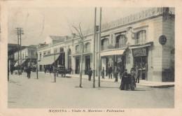 10441-MESSINA-VIALE S.MARTINO-PALAZZINA-ANIMATA-1916-FP - Messina