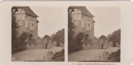 Stereo-Foto (photo Stéréo) 32 Eisenach -Wartburg Ritterhaus Und Zugbrücke- - Photographica