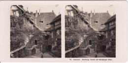 Stereo-Foto (photo Stéréo) 37 Eisenach -Wartburg Vorhof Mit Nürnberger Erker- - Photographica