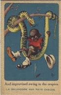 SERPENTS - La Balançoire Aux Pays Chauds - Illustr. Mic B - Ed. SID  N°7038 -colorisée - Andere