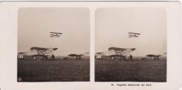 Stereo-Foto (photo Stéréo) 22 Flugwesen -Flugplatz Johannistal, Der Start- - Ohne Zuordnung
