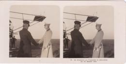 Stereo-Foto (photo Stéréo) 24 Flugwesen -Der Kronprinz Zur Flugwoche In Johannistal Am 18. Oktober 1910- - Photographica