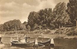 T-BARCHE SU FIUME - Chiatte, Barconi