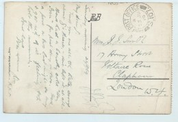 A.P.O. S.107 On PC Of Ypres - Postmark Collection
