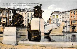 [DC2791] CPA - BELGIO - ANVERS - ANTWERPEN - MONUMENT LAMBERMONT - Non Viaggiata - Old Postcard - Antwerpen