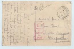 F.P.O. 104 On PC Of Tournai - Postmark Collection
