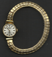 Vintage Ladies Watch, Roamer, Working, Gold Plated. - Watches: Jewels