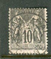 Superbe N° 89 Cachet De Shanghaï ( Chine ) - 1876-1898 Sage (Tipo II)