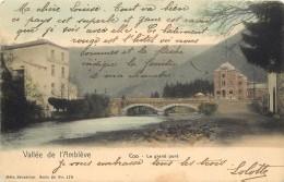 VALLE DE L'AMBLEVE - Coo, Le Grand Pont. - Trois-Ponts