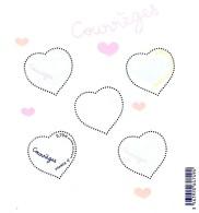 France - 2016 - Love - Heart - Courreges - Mint Souvenir Sheet - Unused Stamps