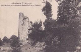 Carte 1910 RUINES DU CHATEAU DE MONTAFILANT PRES PLANCOET - France