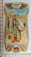 Chromo Calendrier 1905 /  SAVON LE CHAT à Travers Le Monde / Herzégovine / Bosnie / Femme Lingère / Style Art Nouveau - Trade Cards