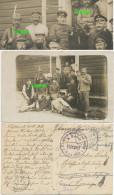1. WK Fotokarte, Pickelhaube Bajonett 6. Landsturm Inft Bataill. Posen, Russland - Oorlog 1914-18