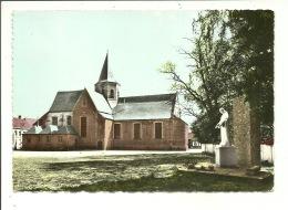 Kalken (Calcken) : Kerk Van De H. Denijs ( Gelopen Kaart ) - Laarne